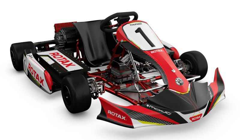 Brp Launches A Whole New Kart Racing Experience With Its First Rotax Electric Pack