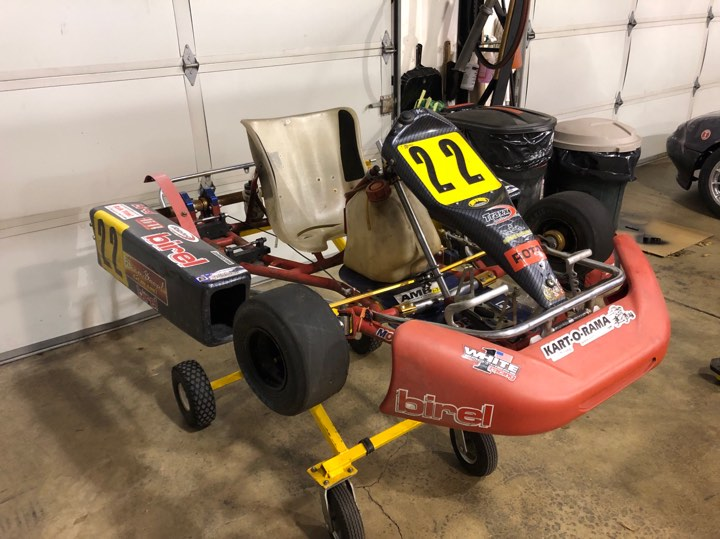99 Birel Cheap LO206 Project - (Extra) Badass Karts: Vintage