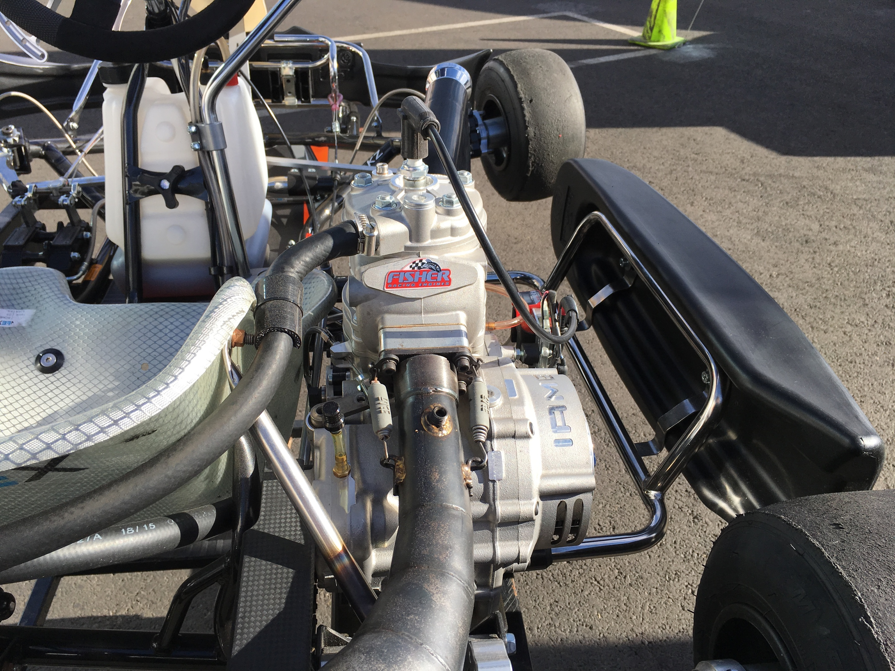 SKUSA IAME 175cc Shifter Pics and Details - 2 Stroke Engine