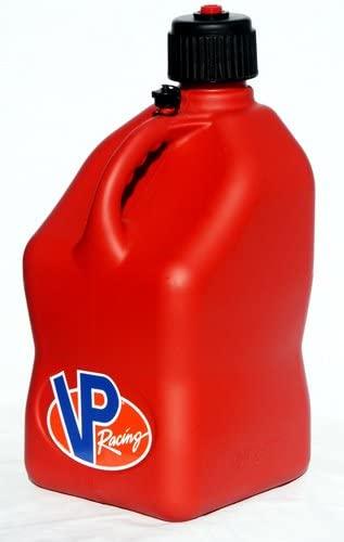 VP Racing Fuels 3512 Motorsport 5 Gallon Square Plastic Utility Jug Red