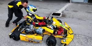 davide forè TK Racing Kart|300x151