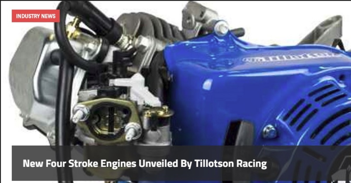 New Four Stroke Clone Engines Unveiled by Tillotson Racing - Karting