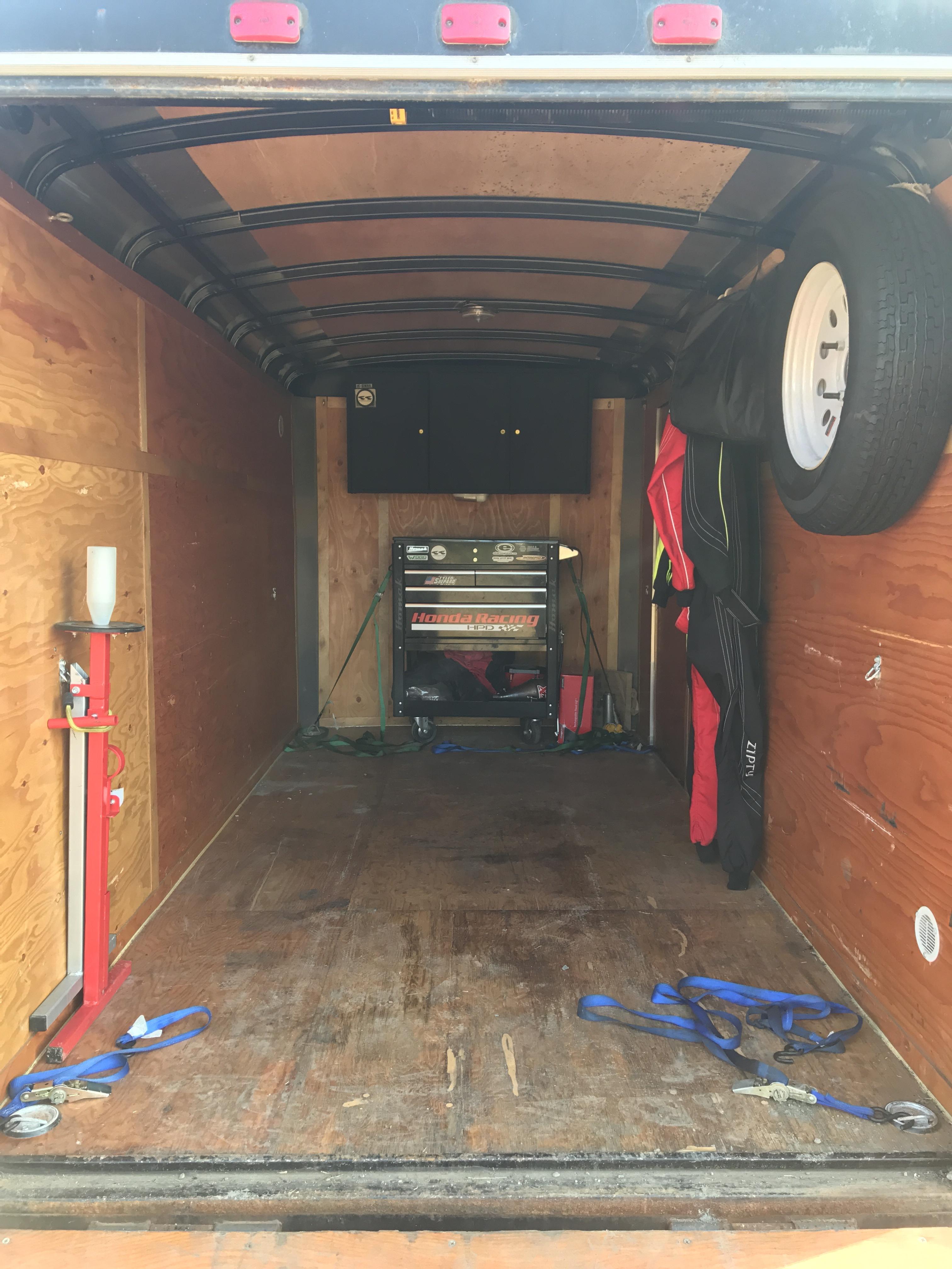 trailer setup  started  karting kartpulse forums kartings fastest
