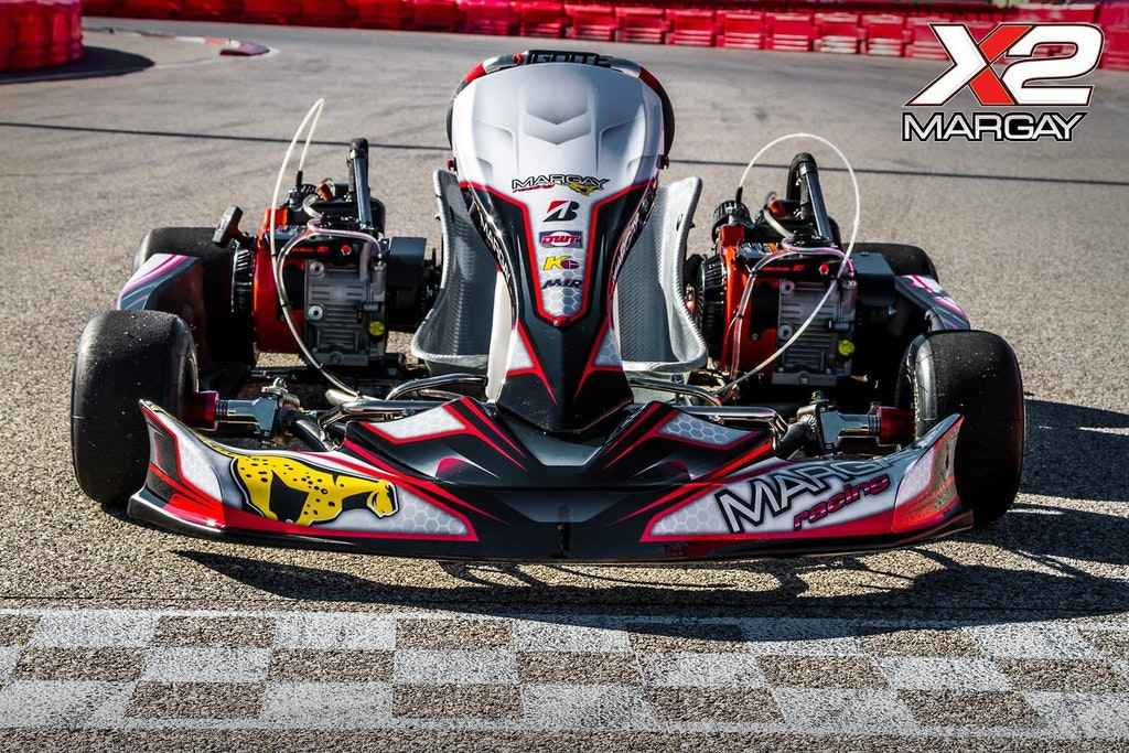 Dual 206 Engine Kart from Margay - (Extra) Badass Karts