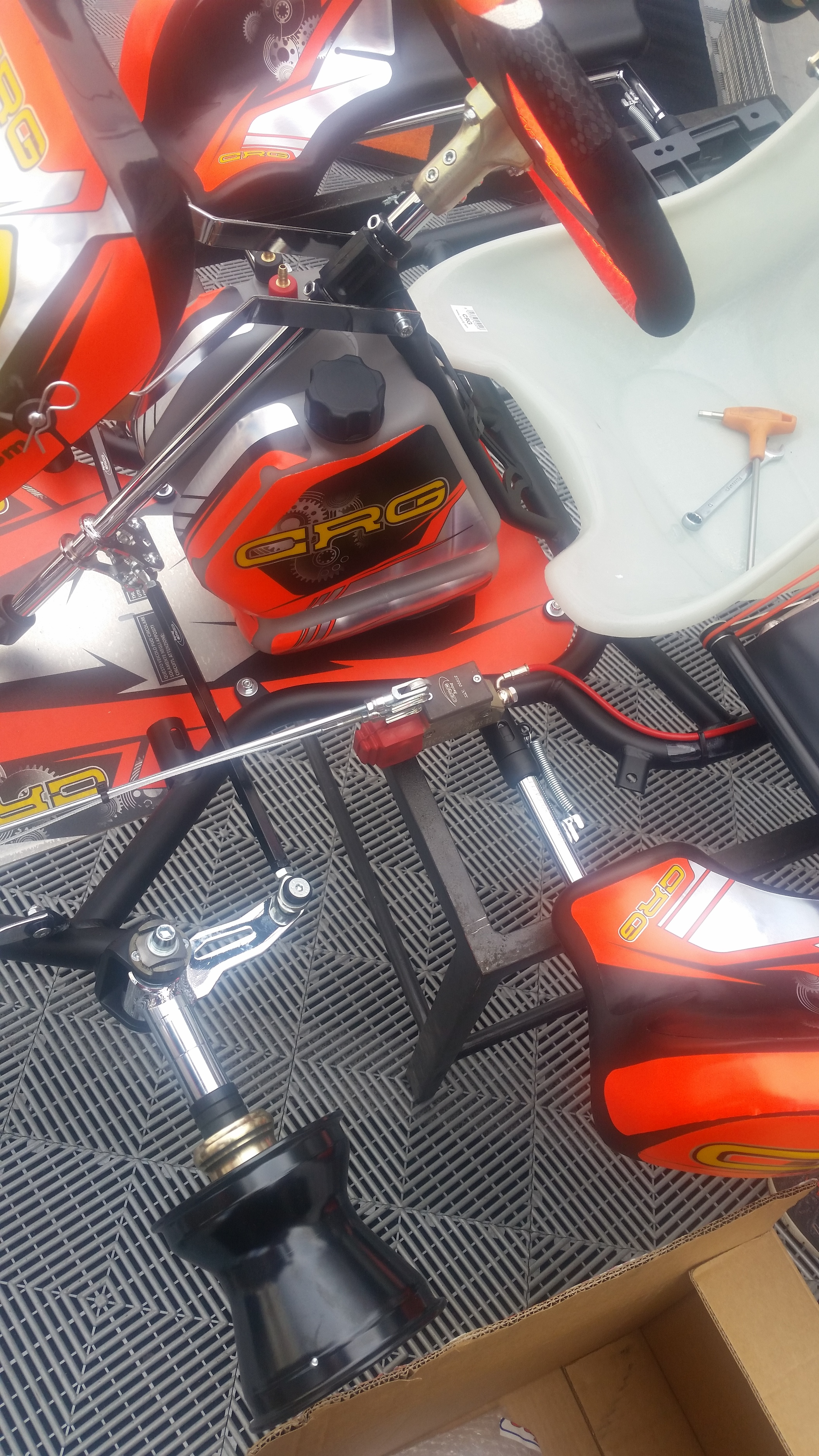 4 Cycle Four Stroke chassis construction - Chassis\Handling Help and